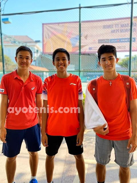 Pijakkan Kaki ke Perempatfinal ITF J5 Phnom Penh (Seri Kedua), Dio Ungkap Rahasia Kemenangan
