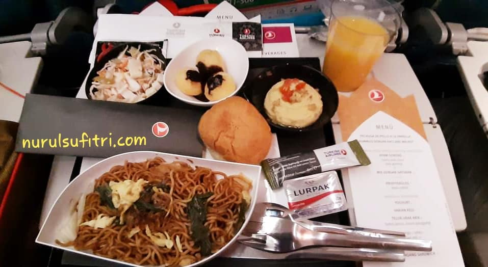 Turkish Airlines Manjakan Penumpang dengan Makanan Lezat dan Halal Nurul Sufitri Travel Lifestyle Blog