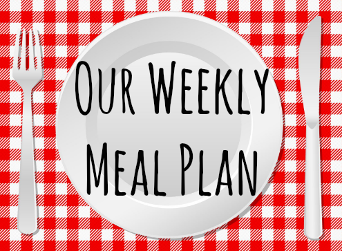 Our Weekly Meal Plan title