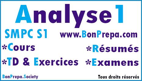 Analyse 1 SMPC S1