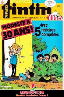 Fascicule Tintin, numéro 17, 1985