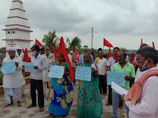 cpi-ml-protest-remove-mangal-pandey