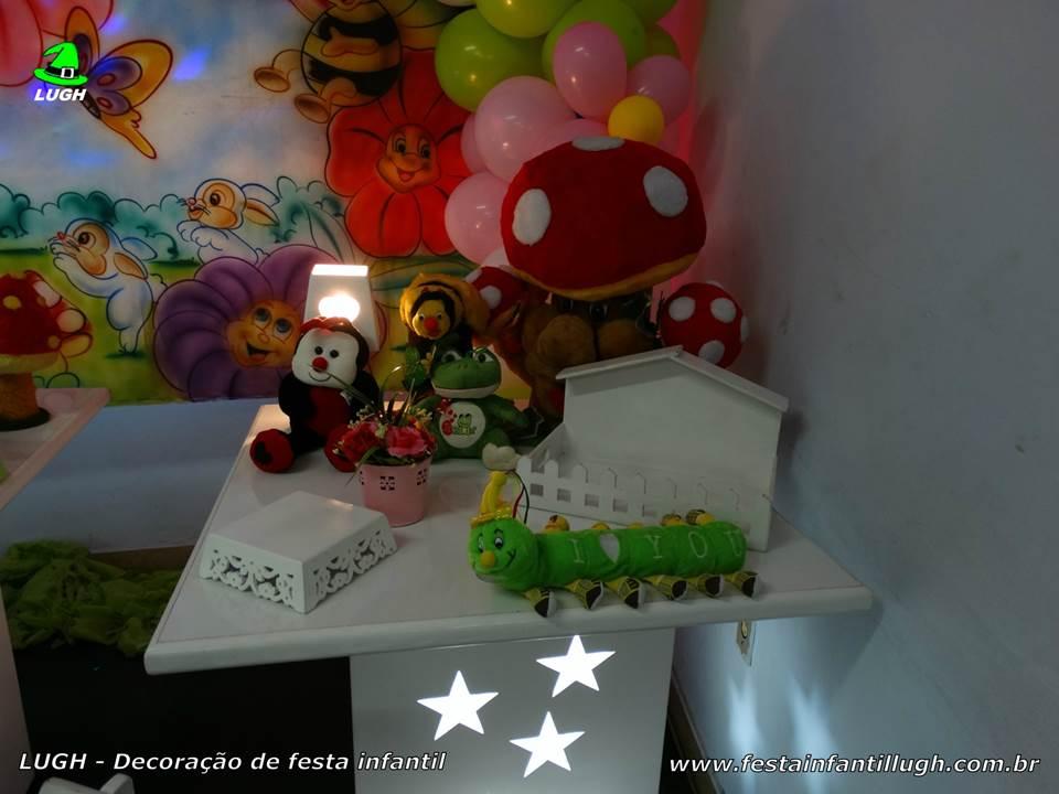 decoracao infantil jardim encantado provencal : decoracao infantil jardim encantado provencal: Jardim Encantado, mesa temática infantil – Festa Infantil Lugh