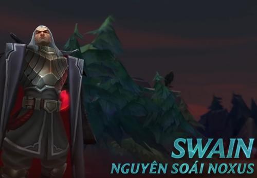 Lên đủ trang bị cho Swain để chắc là phát huy tối đa sức khỏe của hero.