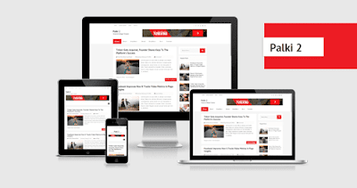 Palki 2 Fully Responsive Blogger Template Free Download 2020