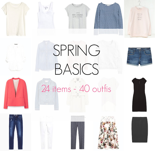 Ioanna's Notebook - Spring Basics: 24 items - 40 outfits