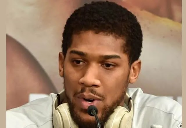 #EndSARS: It's time for change in Nigeria -Anthony Joshua