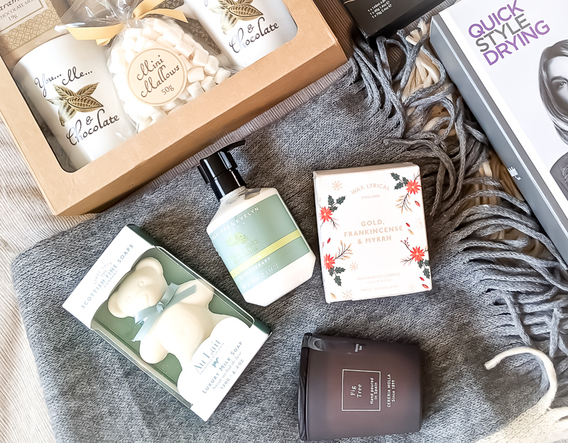 Hot Chocolate, Candles, Soaps and toiletries gifts from TK Maxx
