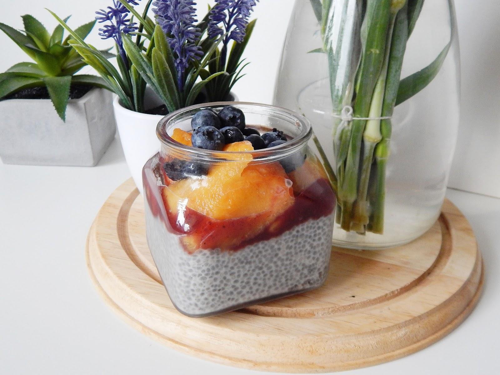 szybkie śniadanie - pudding chia