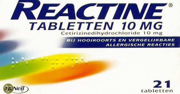 Pareri REACTIN: antialergicul care are in compozitie
