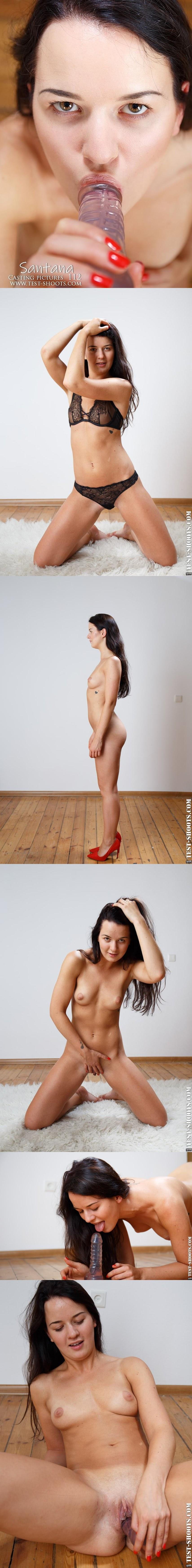 [Test-Shoot.Com] Santana - Beautiful Girl Masturbates In Nude Casting