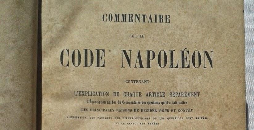 El Codigo de Napoleon Bonaparte