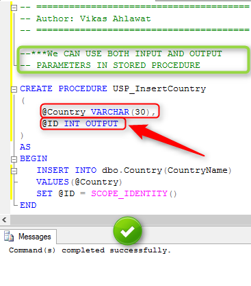 DIFFERENCE BETWEEN STORED PROCEDURE AND FUNCTION IN SQL WITH