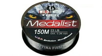 Senar Pancing Wild Wolf Medalist