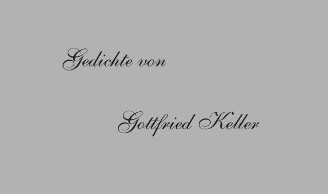Gedichte Und Zitate Fur Alle G Keller Gedichte Unruhe Der Nacht