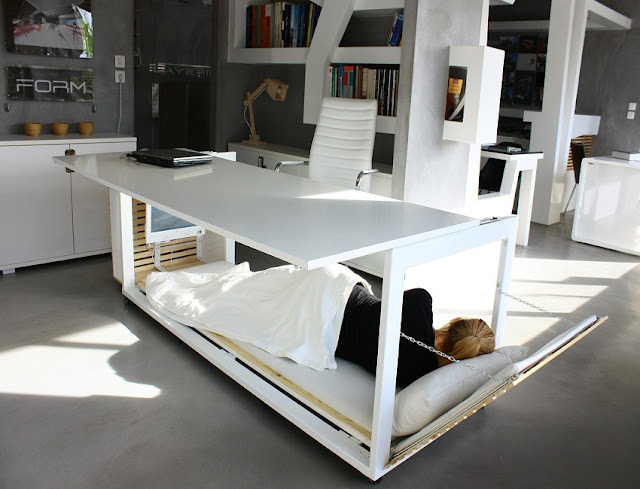 best built in white desk for home office design ideas