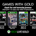 Xbox Games With Gold For September 2019