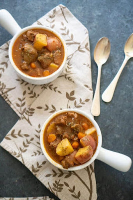 ★★★★★ |   EASY INSTANT POT BEEF STEW