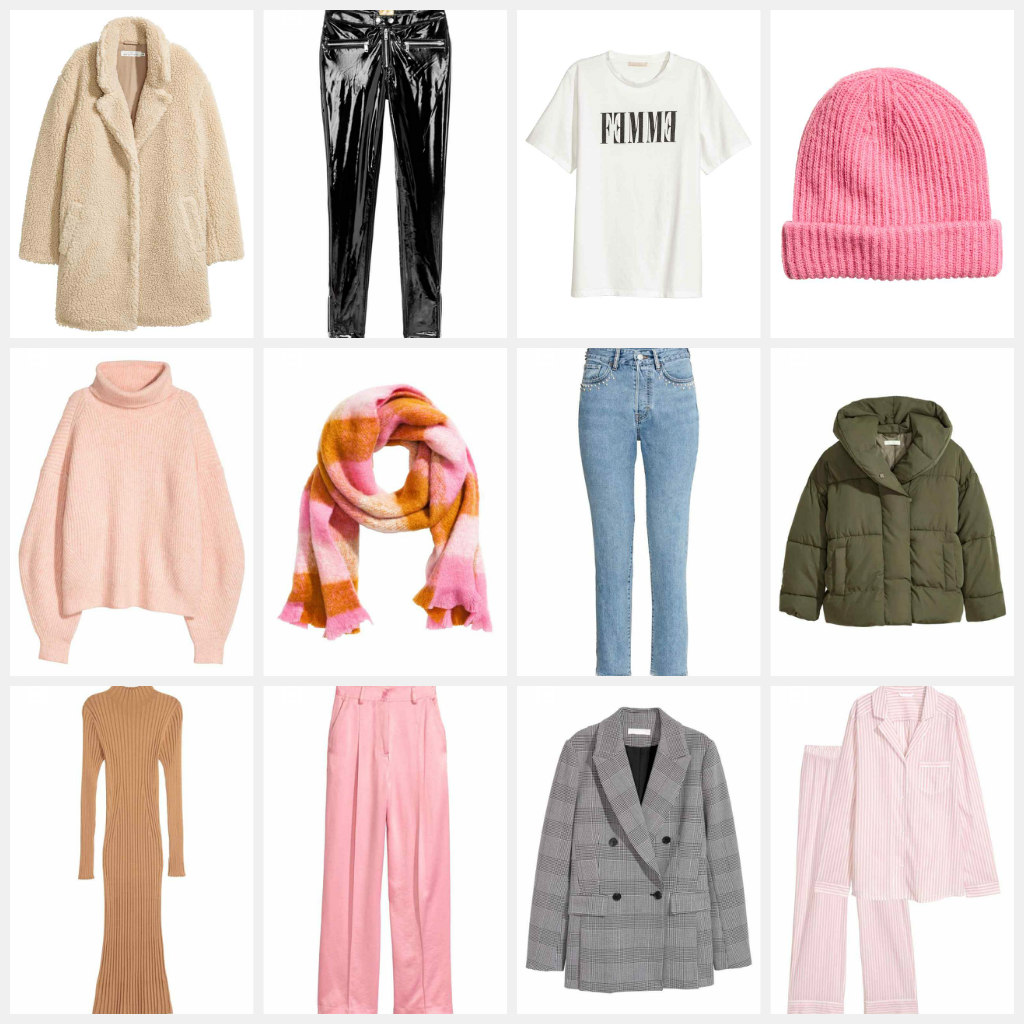 h&M, pink, AW17