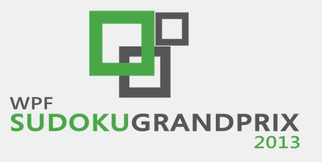WPF Sudoku Grand Prix 2013