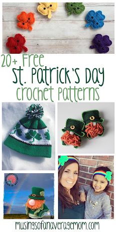 Free St. Patrick's day crochet patterns