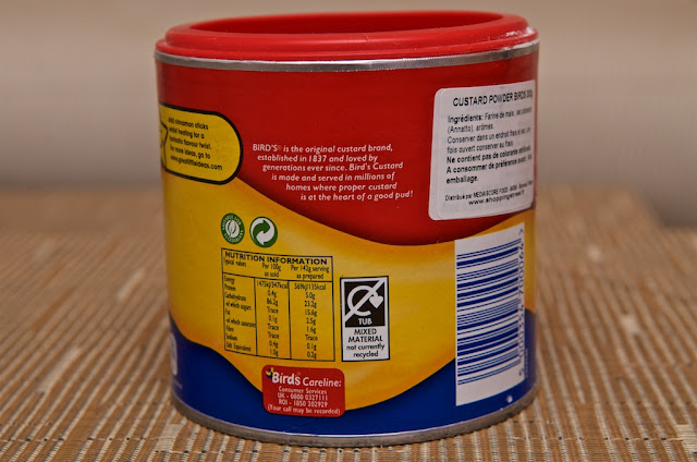 birds custard powder instructions