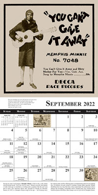 Blues Images 2022 calendar