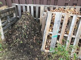 Compost Heap - Mulch Pile