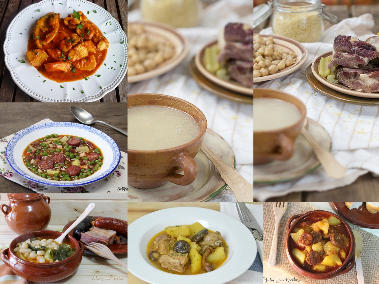 Platos de cuchara para el d a a d a cocina for Platos de cocina