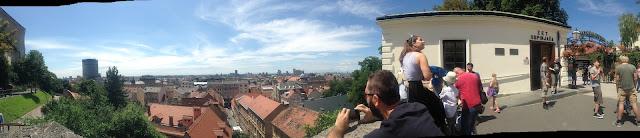 Panoramic of Zagreb