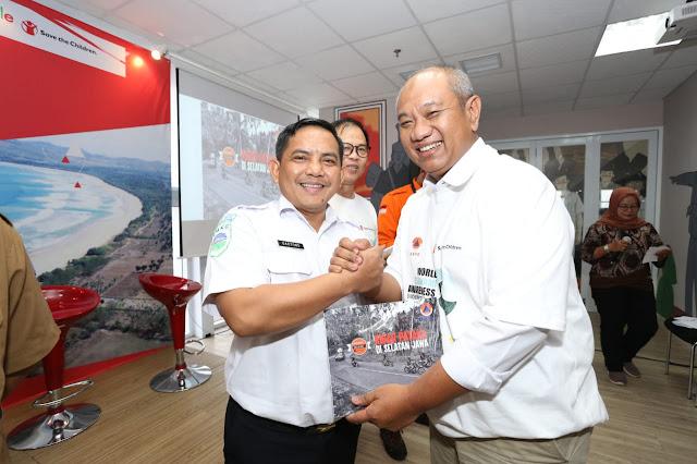 """BNPB Luncurkan Buku Ekspedisi Destana """"Kibar Pataka di Selatan Jawa"""""""