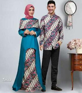 busana muslim batik modern wanita