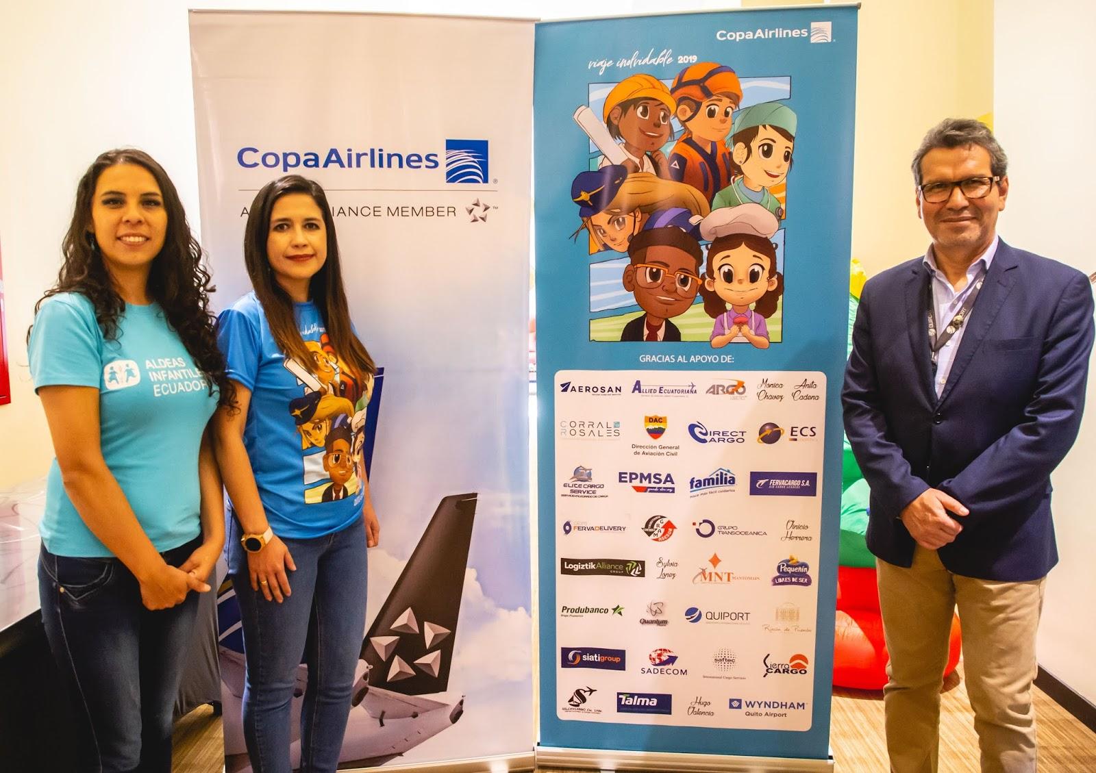 """120 niños cumplieron su sueño de volar en un """"Viaje Inolvidable"""" con Copa Airlines"""