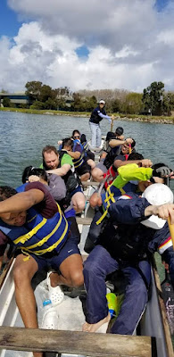 San Francisco Bay Area dragon boat team DieselFish offers free lessons in Redwood CIty