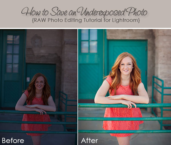 How to Save an Underexposed Photo in Lightroom