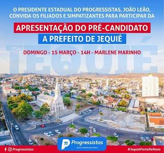 Evento oficializar pré-candidatura de Zé Cocá a prefeito de Jequié