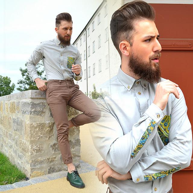 Resultado de imagem para como usar sapato verde masculino