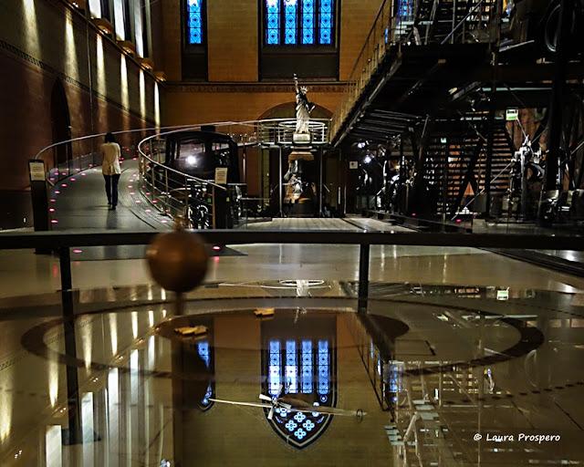 Le Pendule de Foucault, Musée des Arts et Métiers © Laura Prospero