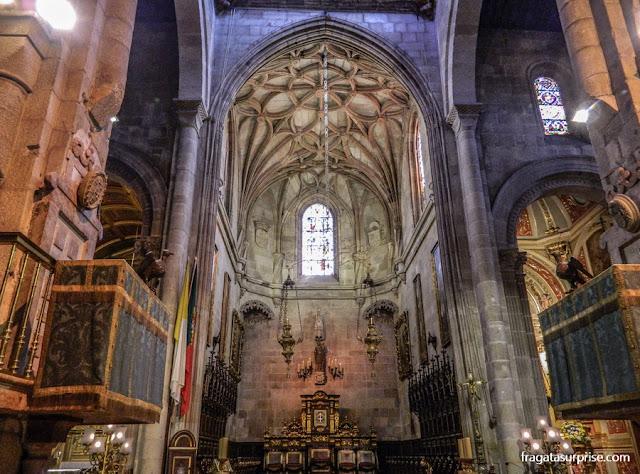 Altar-mor da Sé de Braga, Portugal