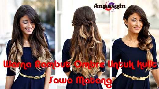 Warna Rambut Yang Bagus Untuk Kulit Sawo Matang