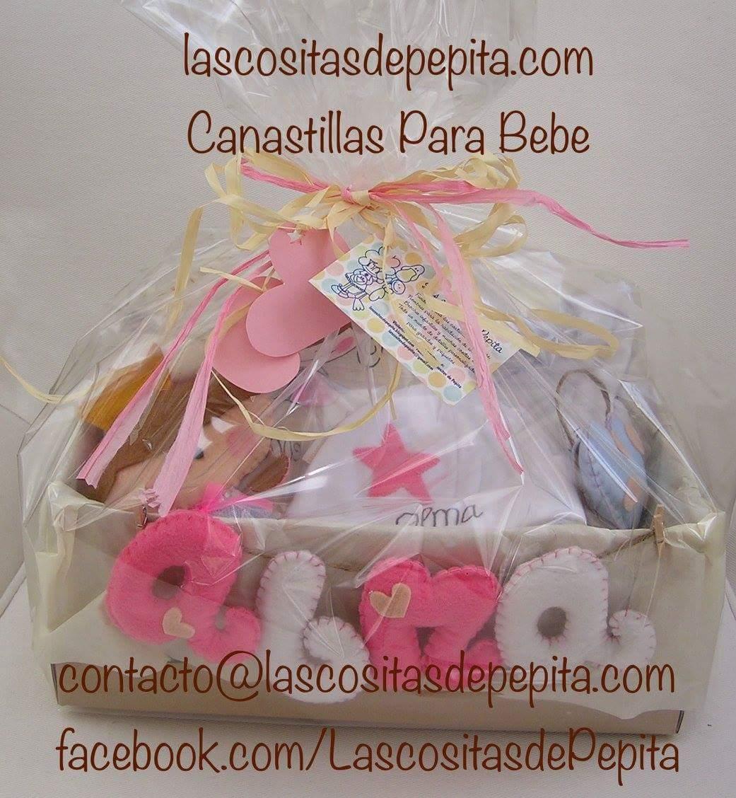 Las cositas de pepita canastillas infantiles personalizadas para bebes - Canastillas para bebes ...
