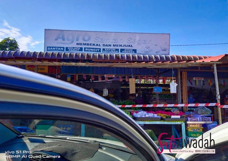 Beli Barang Basah Di Kedai Agro Santan Segar Tanah Merah Kelantan