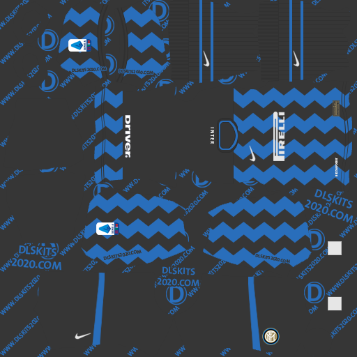 Inter Milan kits 2020-2021 by nike kits dream league soccer 2020 (home)