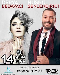 Balçova Termal Otel İzmir Sevgililer Günü Programı Menüsü 2020