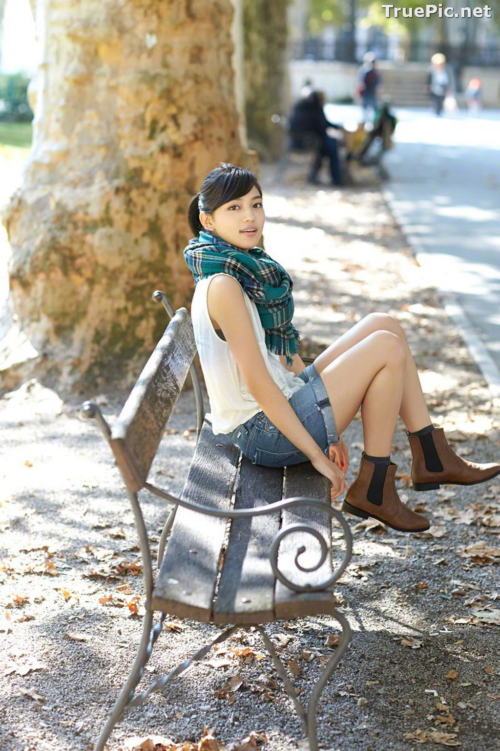 Image Wanibooks No.132 - Japanese Actress and Gravure Idol - Haruna Kawaguchi - TruePic.net - Picture-2