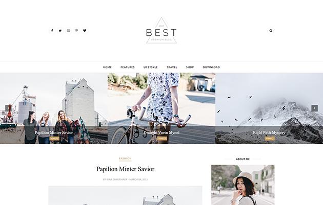 Download Theme Themexpose Best Clean Blogger Blogspot Template
