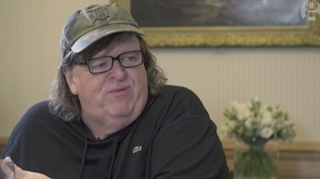Michael Moore: 'Donald Trump Is Like The Sound Of Dying Dinosaurs' – Video Interview