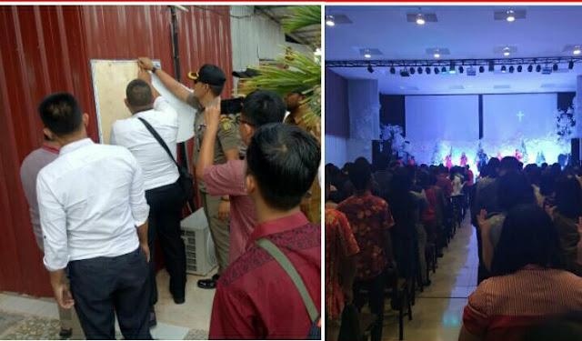 Kado Natal Terindah Buat Jemaat GBI MyHome Tanjungpinang Riau, IMB Gerejanya Dicabut Oleh Pemerintah Setempat