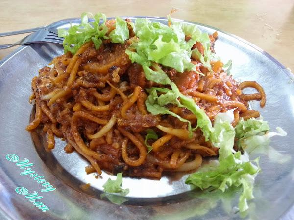 Mee Goreng @ Restoran Barkath, Tanjung Bunga
