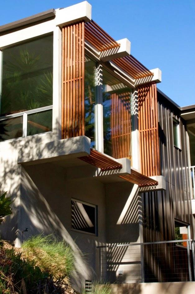 Arsitektur Modern Arsitektur Desain Arsitektur: Arsitektur Rumah Modern Kontemporer Dua Lantai